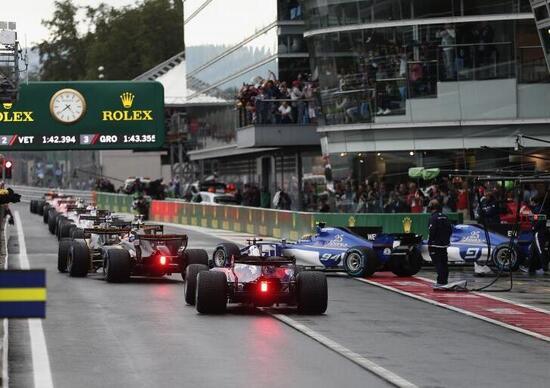 Formula 1: ecco il calendario 2018