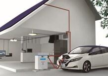Nissan Leaf, la nuova elettrica ricarica gratis per 2 anni