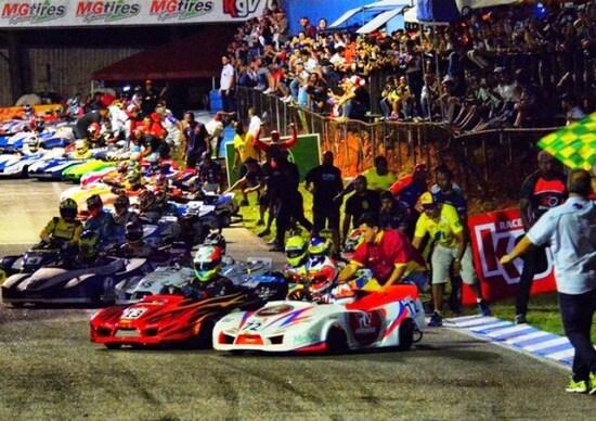 Kart, 500 Miglia Granja Viana: rissa e penalità per il team di Massa