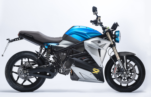 Energica Eva EsseEsse9 Special, livrea Shocking Blue