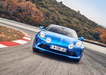 Alpine A110 Première Edition, 252 CV tra 4C e Cayman [Video]