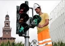 Arrivano i semafori col conto alla rovescia