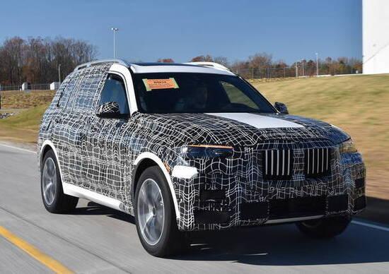 BMW da vita alla X7 con i modelli preserie