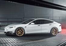 Tesla Model S, arriva il performance kit di Novitec