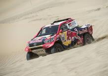 Dakar 2018: Live Day 1. Nelle moto primo Sunderland (KTM). Auto ad Al-Attiyah (Toyota)