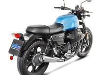 LeoVince Classic Racer per Moto Guzzi V7 III