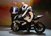 BMW eRR: Superbike elettrica a sorpresa