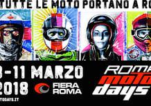 Motodays: Aldo Drudi firma il nuovo logo ed il concept creativo