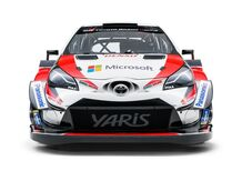 WRC: ecco la Toyota Yaris WRC 2018