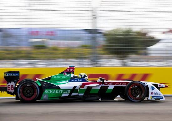 Il ferrarista Giovinazzi sulla Formula E di DS Virgin Racing