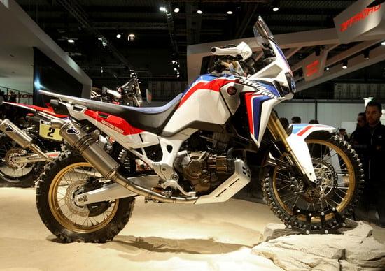 EICMA 2015: Honda Africa Twin Adventure Sports Concept