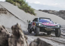 DKR '18 Peugeot. Sainz-Peterhansel, primato stabile