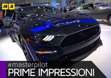 Ford Mustang Bullitt al Salone di Detroit 2018 [Video]