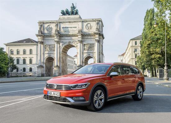 La Volkswagen Passat Alltrack