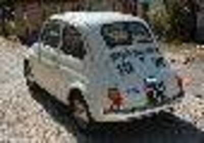 Fiat 500-  d'epoca del 1968 a Morrovalle