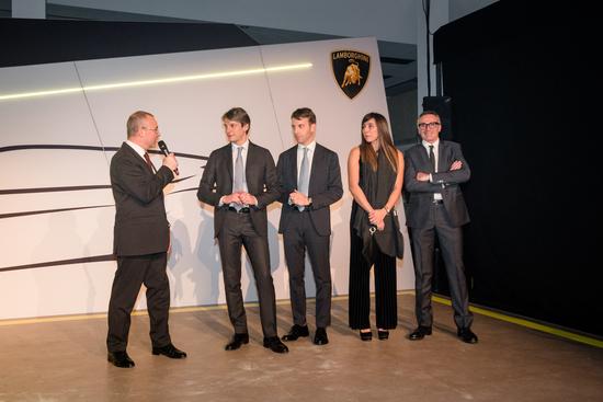 La presentazione della Lamborghini Urus