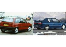 Cinque lustri fa, Confronto: Fiat Tipo Sedicivalvole Vs Renault 19 16v