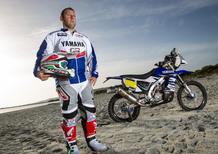 I piloti ufficiali Dakar da Ciapa la moto il 10 dicembre