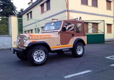 CJ 5  RENEGADE 4200 6L d'epoca del 1981 a Bologna