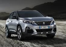 Peugeot 3008 SUV in promo da 249 €/mese