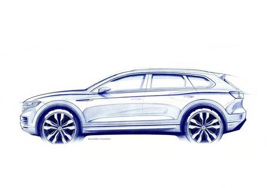 Volkswagen Touareg III, debutto in Cina il 23 marzo