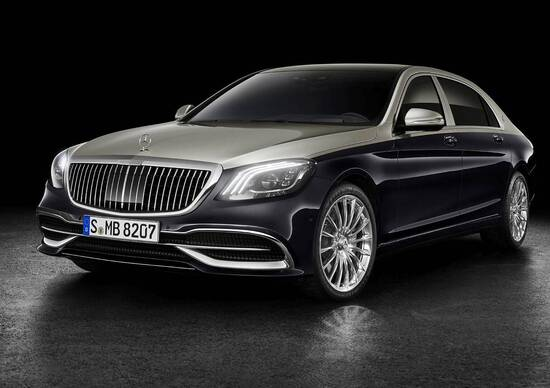 Mercedes-Maybach Classe S restyling, debutto a Ginevra