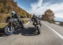 BMW S1000R vs. Yamaha MT-10SP: due naked da pista