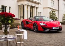 McLaren 570S, una spider per San Valentino