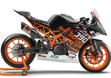 Nuova KTM RC 390R e Kit SSP300 Race