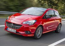 Opel Corsa, una versione completamente elettrica nel 2020