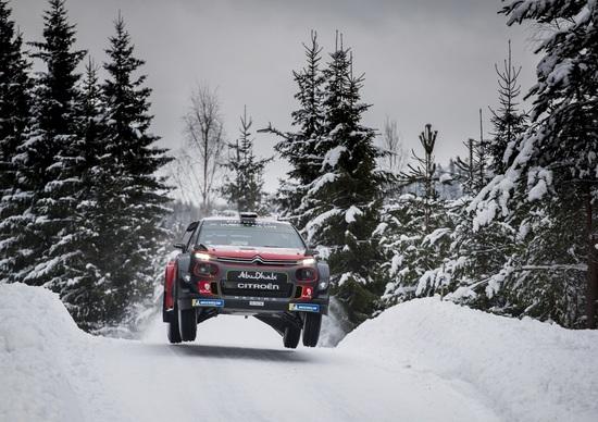 WRC 2018/Citroen. Svezia 1. Breen Special e Esperimento C3 WRC-Ostberg Riuscito.