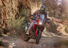 Honda Africa Twin CRF1000L 2018 TEST: S'è dopata!