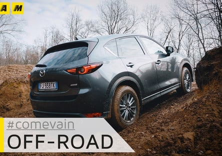 Mazda CX-5, Come va in... Fuoristrada [video]