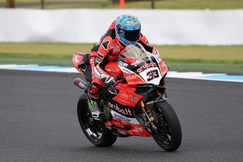 SBK Test a Phillip Island. Day 2 (2)