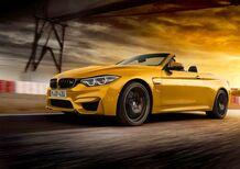 "BMW M4 Cabrio 30 Jahre Edition, 30 anni di ""M"" cabriolet"