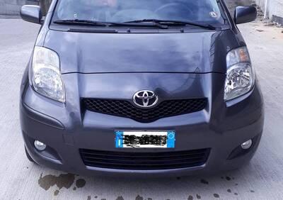 Toyota Yaris 1.D-4D DPF 5 porte M-MT Sol del 2010 usata a Roma