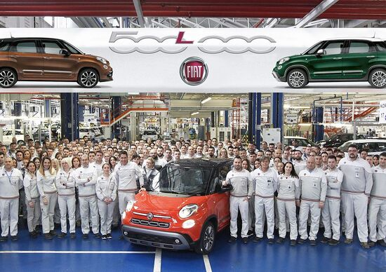 La Fiat 500L raggiunge quota 500.000