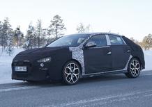Hyundai i30 N Fastback, le foto spia