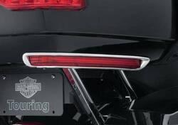 H-D® TOUR-PAK SIDE MARKER CHROME TRIM - 53000330 Harley-Davidson