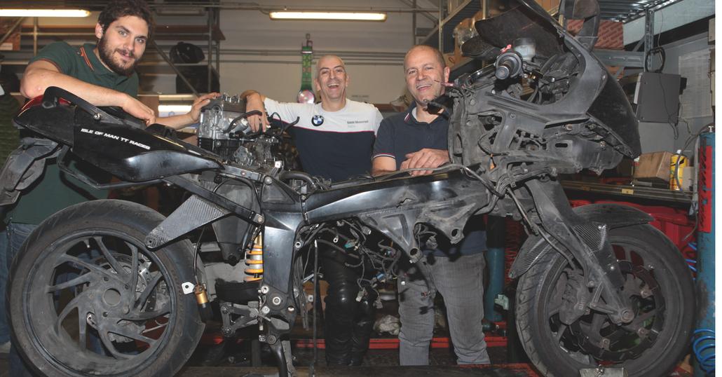 Obiettivo 500.000 km per una BMW K1200S