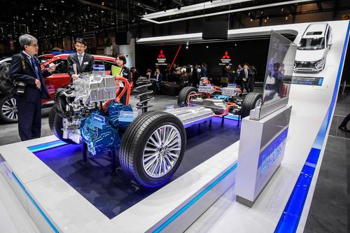 Mitsubishi al Salone di Ginevra 2018 (3)