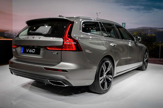 La nuova Volvo V60