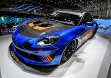 Alpine A110 GT4 al Salone di Ginevra 2018 [Video]