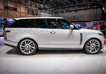 Range Rover SV Coupé al Salone di Ginevra 2018 [Video]