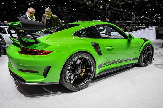 La Porsche 911 GT3 RS al Salone di Ginevra 2018