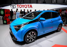 Toyota Aygo restyling al Salone di Ginevra 2018 [Video]