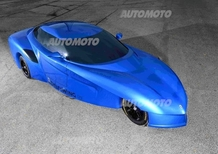 "DeltaWing GT, l'""auto freccia"" diventa stradale"