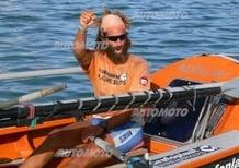 Alex Bellini: «L'Oceano a remi? Il segreto è la testa, non i muscoli. Un po' come Abarth!»