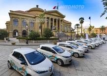 Renault: a Palermo il car sharing elettrico più esteso del Sud Italia