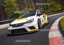 Opel Astra TCR, la nuova Astra scende in pista